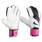 Nike GK Classic Goalkeeper Glove (White/Pink Flash)