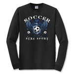 Soccer Eagle Long Sleeve T-Shirt