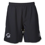 Pele Solid Soccer Shorts (Black)