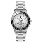 UEFA Champions League Stainless Steel Strap Watch (Gray)