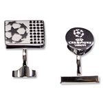 UEFA Champions League Swarovski Cufflinks (Black)