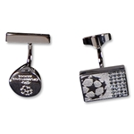 UEFA Champions League Swarovski Cufflinks (Royal)