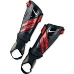 Nike Youth Protegga Shield Shinguard (Black/Red/White)