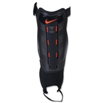 Nike Charge 15 Shinguard (Black/Dark Grey/Total Crimson)
