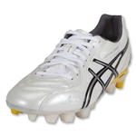 Asics Lethal Stats Cleats (White/Black/Wattle)