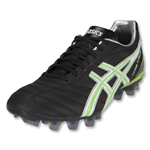 Asics Lethal Flash Cleats (Black/White/Neon Green)