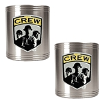 Columbus Crew 2 pc Stainless Steel Can Holder Set