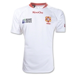 Tonga RWC 2011 Alternate SS Rugby Jersey