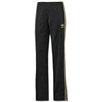 adidas adi Firebird Women's Track Pants (Bk/Gold)
