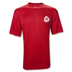 adidas Football Signature Clima Soccer T-Shirt (Red)