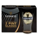 Guinness Extra Stout Pint Glasses (Pack of 2)