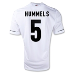Germany 11/13 HUMMELS Home Soccer Jersey
