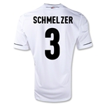 Germany 11/13 SCHMELZER Home Soccer Jersey