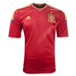 Spain 11/13 Home Youth Soccer Jersey