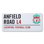 Liverpool 3D Embossed Sign