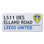 Leeds United 3D Embossed Sign