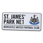 Newcastle United 3D Embossed Sign