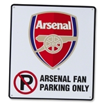 Arsenal No Parking Sign