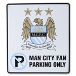 Manchester City No Parking Sign