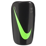 Nike Mercurial Lightspeed Shinguard (Black/Green)