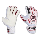 Rinat Zero 9 Goalkeeper Gloves (White/Red)