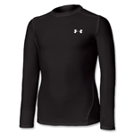 Under Armour Youth Heatgear Black Compression LS T-Shirt