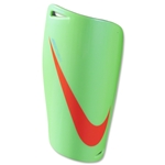 Nike Mercurial Lite Shinguard (Neo Lime/Chrome/Total Crimson)