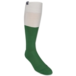 Pele 50/50 Sock (Green/Wht)