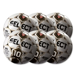 Select Numero 10 Ball-6 Pack-White/Black/Gold (Wh/Gd)