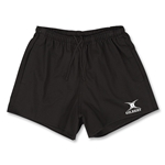 Gilbert Kiwi Rugby Shorts (Black)