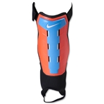 Nike Youth Charge Shinguard (Total Crimson/Cyan/Black/White)