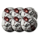 Select Royale Maroon Game Ball 6 Pack