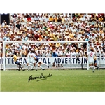 ICONS Gordon Banks Save V Pele Photo
