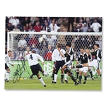 ICONS Steven Gerrard England 5 Germany 1 Signed Photo