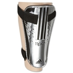 adidas 11Chrome Shin Guards (Metallic Silver/Black)