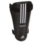 adidas 11Nova Lite Shin Guards (Black/Metallic Silver)
