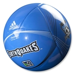 San Jose Earthquakes 2013 Tropheo Soccer Ball
