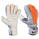 Nike GK Confidence Glove (Grey/Total Orange)