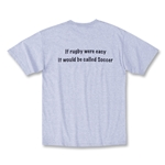 Rugby VS. Soccer T-Shirt (Gray)