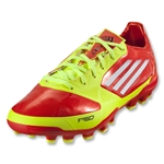 adidas F30 TRX AG Cleats (High Energy/Electricity/White)