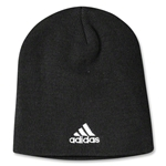 adidas Cuffless Knit Beanie (Black)