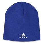 adidas Cuffless Knit Beanie (Royal)