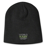 adidas World Rugby Shop Cuffed Beanie (Black)