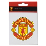 Manchester United Crest Sticker