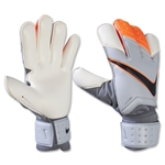 Nike GK Vapor Grip3 Glove (Grey/Total Orange)