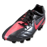 Nike Total90 Laser IV FG Cleats (Dark Grey/Black/Solar Red)
