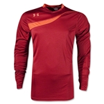 Under Armour Horizontal LS Goalkeeper Jersey (Maroon)