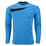 Under Armour Horizontal Long Sleeve Goalkeeper Jersey (Sky)