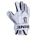Brine Uprising Lacrosse Gloves 8 (White)