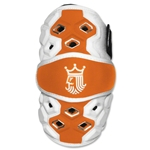 Brine Triumph Lacrosse Elbow Guards (Orange)